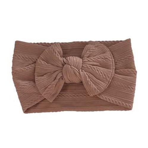 Knotted Headband - Cinnamon