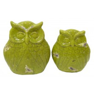 CLEARANCE Abstract Ceramic Owl