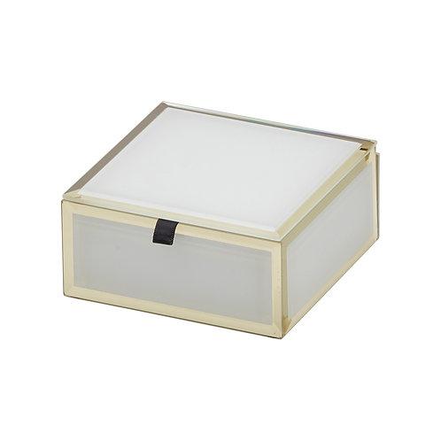 Florence Jewellery Box Small - White
