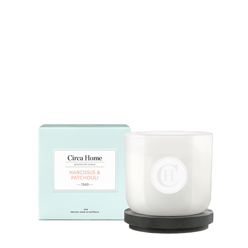 Circa Home Candle 260g - Narcissus and Patchouli
