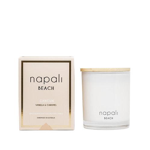 Napali Candle 160g - Cancun - Vanilla and Caramel