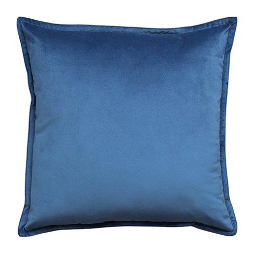 Mira Velvet Dark Blue Cushion