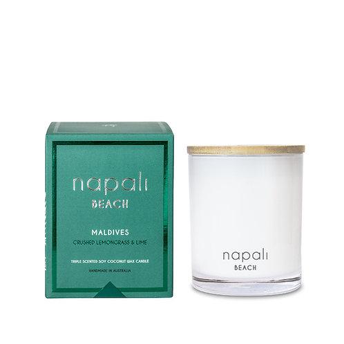 Napali Candle 400g - Maldives - Crushed Lemongrass and Lime