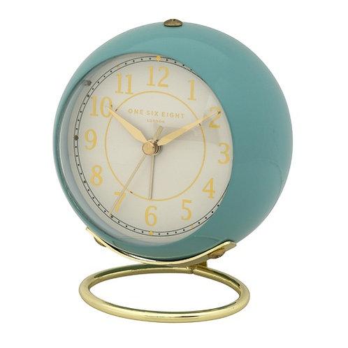 Anna Silent Alarm Clock -  Duck Egg Blue