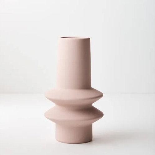 Lucena Vase 21.8cmx12.5cm - Light Pink