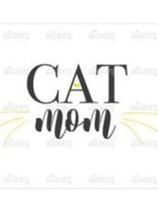 Thirsty Stone Coaster - Cat Mom