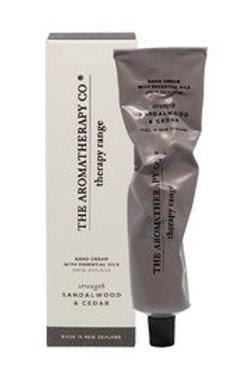 Aromatherapy Co Hand Cream - Sandalwood and Cedar