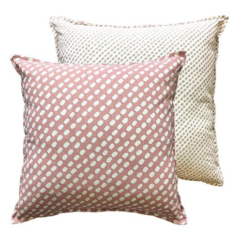 Lima Dot Blush Cushion