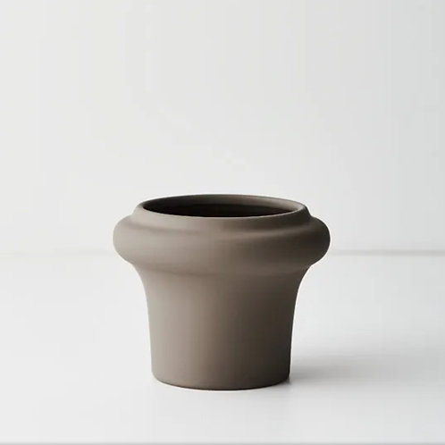 Lucena Pot 11cmx14cm - Grey
