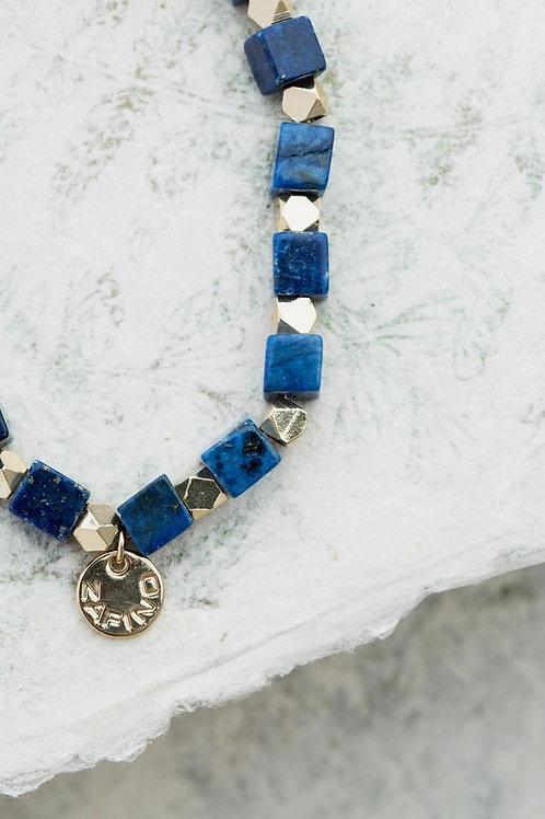Lapis Square Bracelet