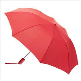 Large Foldable Umbrella - Red