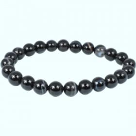 Crystal Bracelet - Black Agate