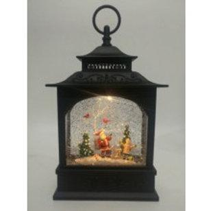 Christmas Lantern - Santa