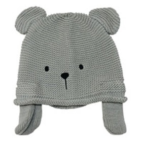 Teddy Knitted Hat - Grey