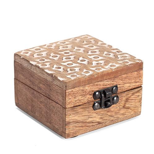 Carved Trinket Box