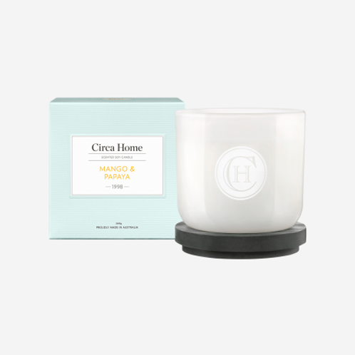 CLEARANCE Circa Home Candle 260g - Mango & Papaya