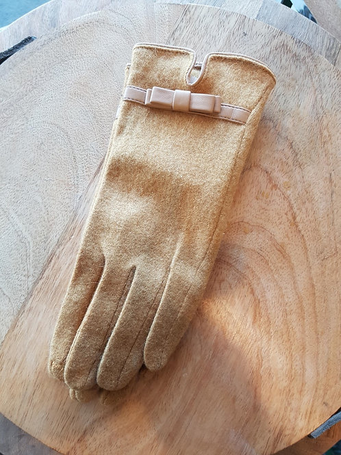 Wool Gloves - Mustard