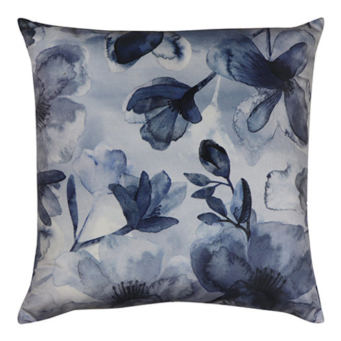 Euroa Blue Velvet Cushion