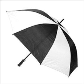 Golf Umbrella - Black+White