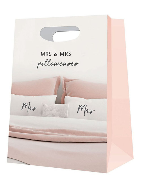 CLEARANCE Pillowcases - Mrs & Mrs