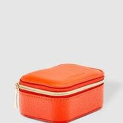 Sisco Travel Jewellery Case - Orange