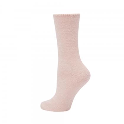 Bamboo Bed Socks - Pink