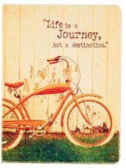 CLEARANCE  Life is a Journey Journal Large