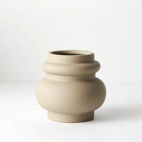 Lucena Pot 15cmx16cm - Sand
