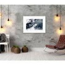 CLEARANCE Framed Black & White Print 50x70