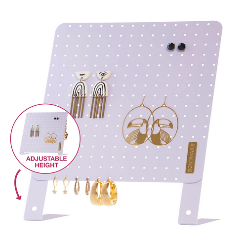 Classic Earring Holder - Lilac