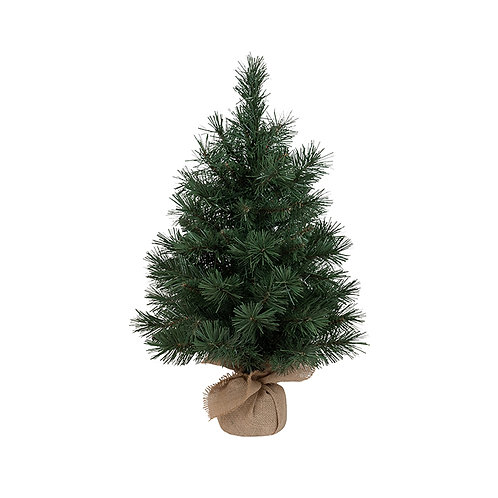Christmas Tree in Burlap