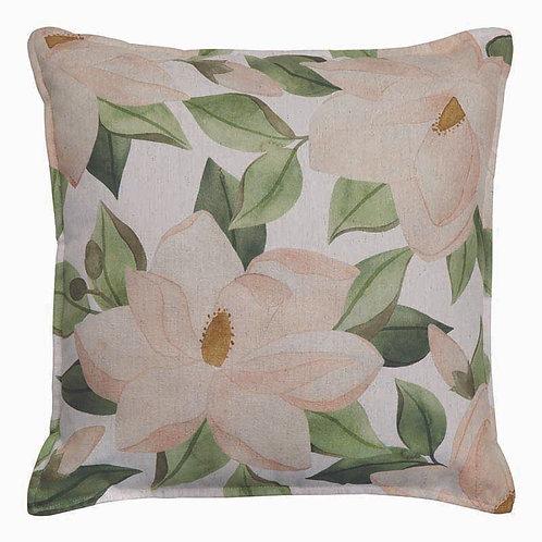 CLEARANCE Magnolia Blush-Green Cushion