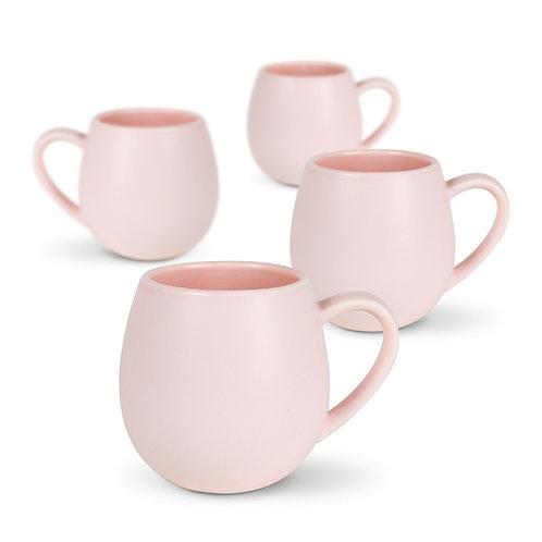 Robert Gordon Hug Me Mugs 4 Pk - Pink