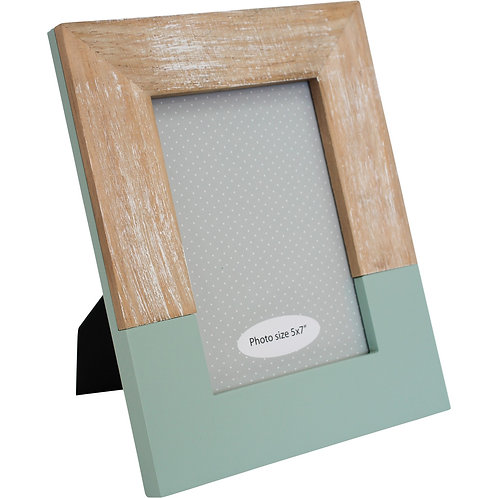 Modern Photo Frame - Sage Green