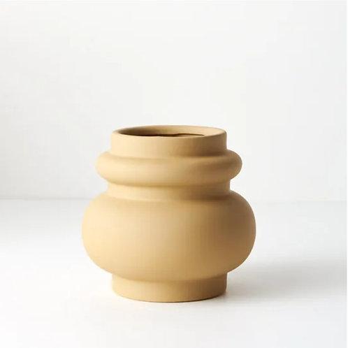 Lucena Pot 15cmx16cm - Mustard