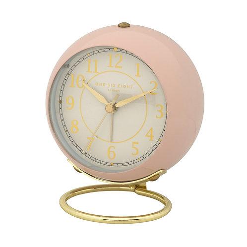 Anna Silent Alarm Clock - Blush