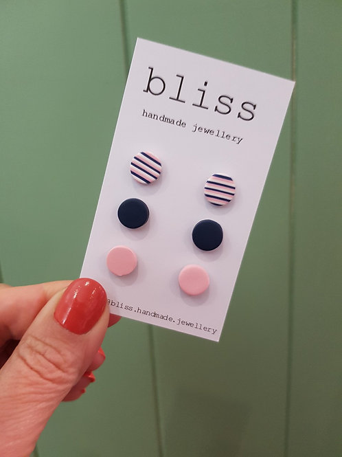 Bliss 3 Pack Studs