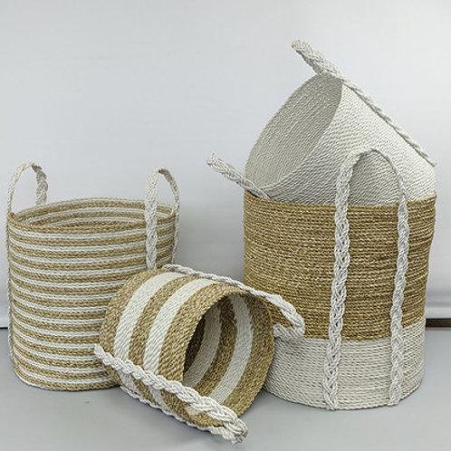 Combo Baskets - White