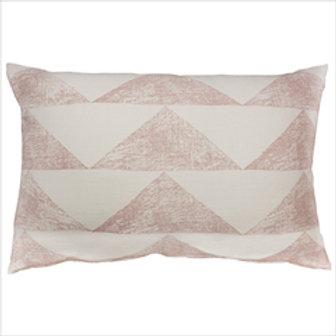 CLEARANCE Madras Link - Pyramid Block Cushion