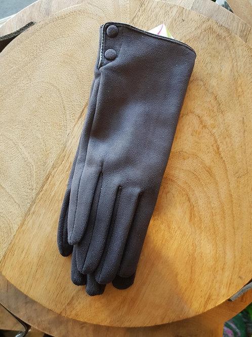 Wool Gloves - Grey
