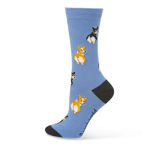Ladies Corgi Bamboo Socks 2-8