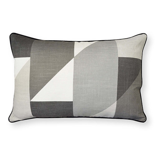 CLEARANCE Madras Link Cube Oblong Cushion
