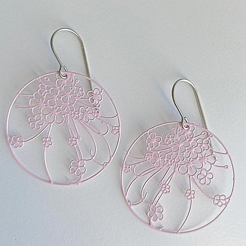 Spotted Giraffe Meadow - Baby Pink