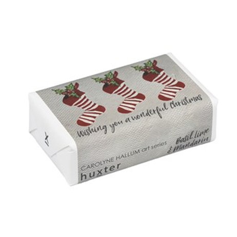 Wrapped Soap - Wishing You a Wonderful Christmas