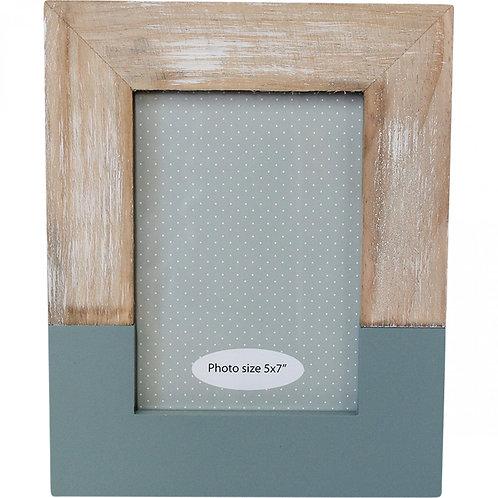 Modern Photo Frame - Steel Blue
