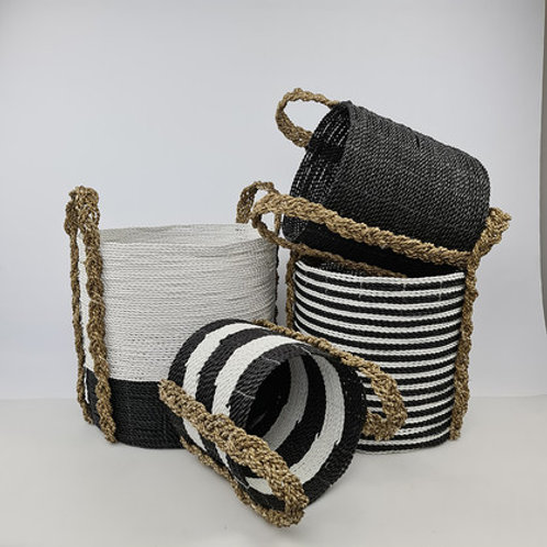 Combo Baskets - Black + White