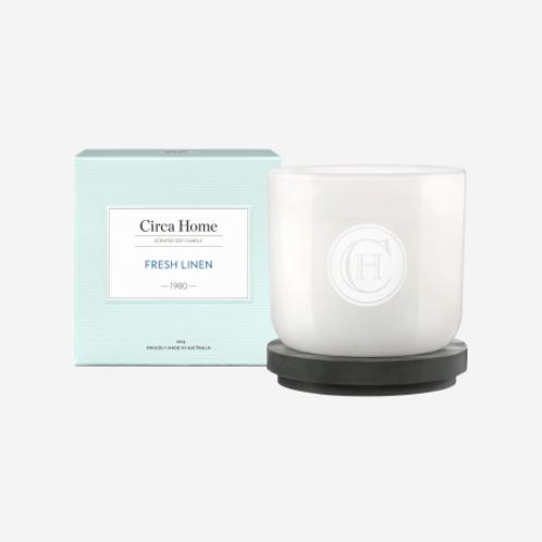 Circa Home Candle 260g - Fresh Linen