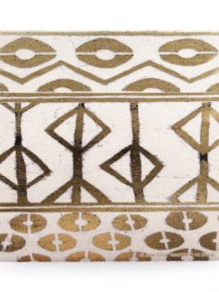 Thirsty Stone Coaster - Tribal Pattern