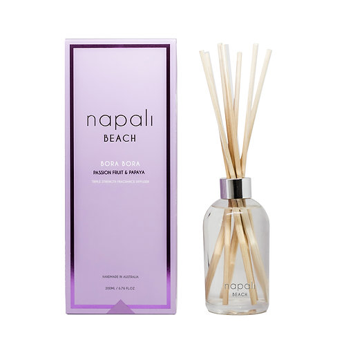 Napali Reed Diffuser - Bora Bora - Passionfruit and Papaya