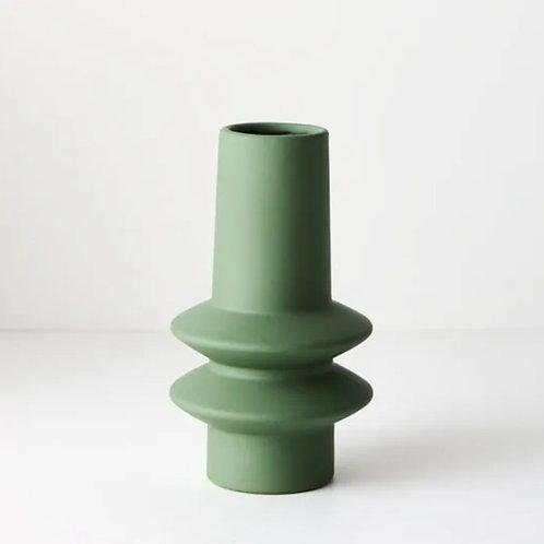Lucena Vase 21.8cmx12.5cm - Green